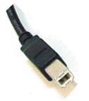 USB B type connector